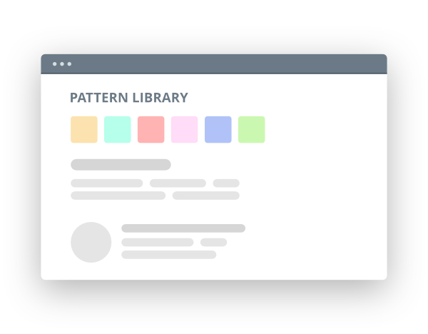 Keep your existing Pattern Library